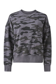 BONDS CAMO PRINT BRUSHED FLEECE CREW