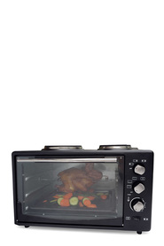HEALTHY CHOICE Portable 34L Oven with 2 Burners