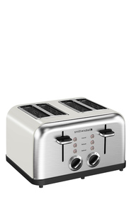 SMITH & NOBEL 4 Slice Toaster White