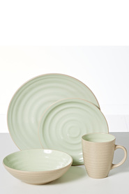 MIKASA GIA DINNER SET GREEN 16PC
