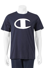 CHAMPION mens graphic c logo tee