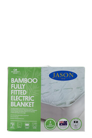 JASON Bamboo Fully Fitted Electric Blanket King