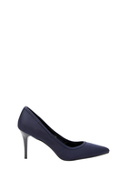 SIMPLY VERA VERA WANG Mid Heel Pointed Neoprene Pump