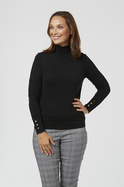 CORE TURTLE NECK KNIT