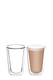 TRAMONTINA Double Wall 2pc Latte Glass Sets 330ml