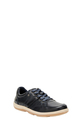 HUSH PUPPIES LEATHER LACE UP L, NAVY, 41
