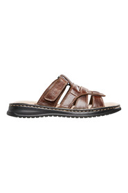 BRONSON Seabreaze Open Toe Leather Slide