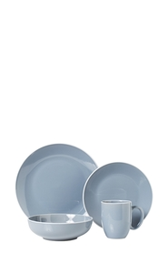 SOREN 16PC ASHFORD GREY DINNER SET