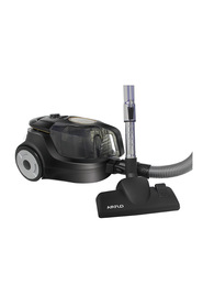 AIRFLO 2000W Power Active Bagless Vacuum Blackand Gold