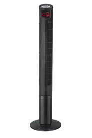 URBANE HOME 117cm Tower Fan Black