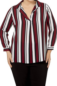 KHOKO PLUS PLUS STRIPE TUNIC