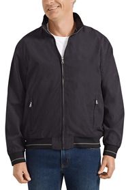 BACK BAY Zipped Through Bomber Jacket