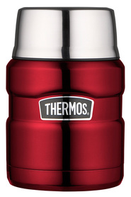 THERMOS King Stainless Steel Red Food Jar 470ml