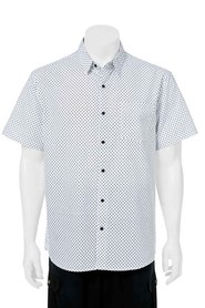 BRONSON Short Sleeve Printed Poplin Shirt