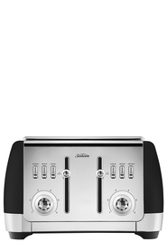SUNBEAM London 4 Slice Toaster Black