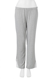 SASH & ROSE WOMENS LACE TRIM SLEEP PANT STYLE HZP1949
