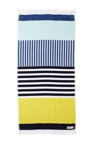 ONKAPARINGA OTWAY STRIPED BEACH TOWEL 90X180CM