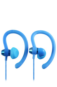 MOKI 90 Degree Sports Earphones Blue
