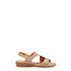 DF SUPERSOFT FONTAINE LEATHER SANDAL