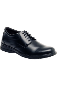HUSH PUPPIES TACTICS WIDE LEATHER LACE UP