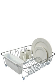 D LINE Dish Drainer White