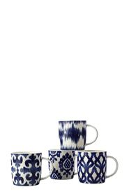 CD Ordello Mug 380ML Set of 4 Gift Boxed