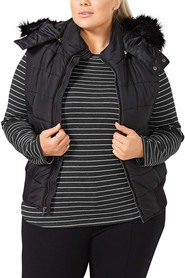 KHOKO Lucy Quilted Vest Plus Size