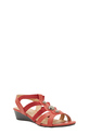 SAVANNAH  SANDAL  HANNA 3, RED, 8