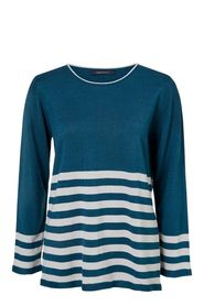 SAVANNAH Soft Touch Crew Stripe Jumper