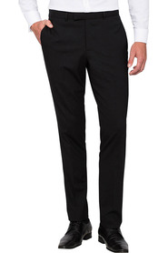 PIERRE CARDIN Wool Blend Flat Front Suit Trouser
