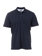 WEST CAPE CONTEMPORARY Mens Cotton Tonal Dot Print Pique Polo