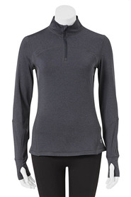 LMA ACTIVE Womens 1/4 Zip Brushed Fleece Top