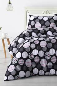 BIG SLEEP Cleo Microfibre Quilt Cover Set QB