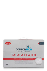 TONTINE Comfortech Platinum Latex Pillow High Contour
