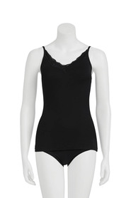 SAVANNAH Modal Therm Camisole With Lace