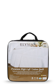ELYSIAN High Loft Cotton Quilt Qb