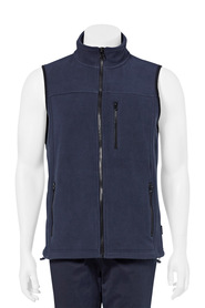 BRONSON Zip Thru Polar Fleece Vest