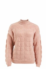 KHOKO COLLECTION Fluffy Pointelle Pullover