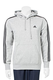 ADIDAS 3 Stripe Fleece Hoody
