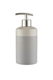 STORE EDGE SOAP DISPENSER CHARCOAL