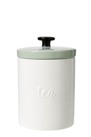 ANNA GARE EMBOSSED TEA CANISTER