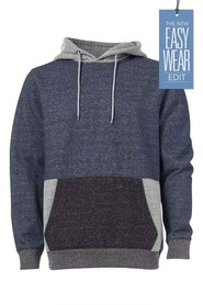 URBAN JEANS CO Contrast Colour Hoody