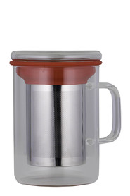 AVANTI TEA MUG INFUSER 350MLRED