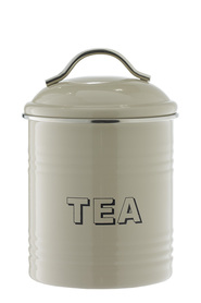 SMITH & NOBEL  Retro canister  tea taupe