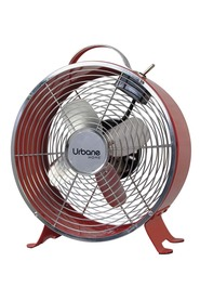 URBANE HOME 20cm Retro Fan Red