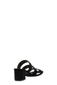 KHOKO THREE BAR SANDAL GABI, BLACK, 6