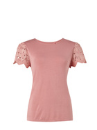 SASH & ROSE Broderie Lace Tee