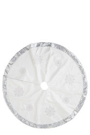 SOREN Winter Wonderland Snowflake Sequin TreeSkirt