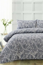ACCESSORIZE Tropical Microfibre Quilt Cover Set King Bed