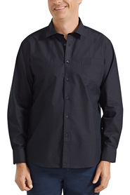 BACK BAY Classic-Fit Textured Dobby Soft Touch Shirt